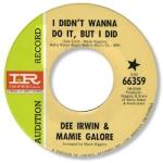 Dee Irwin & Mamie Galore